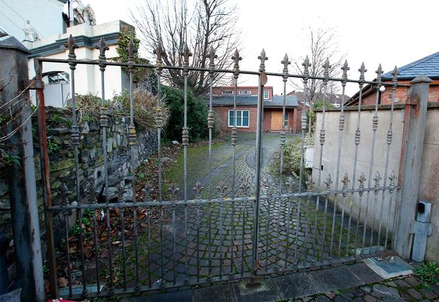 Mick Wallace's house on Dublin's Clontarf Road. Picture Credit : Frank McGrath