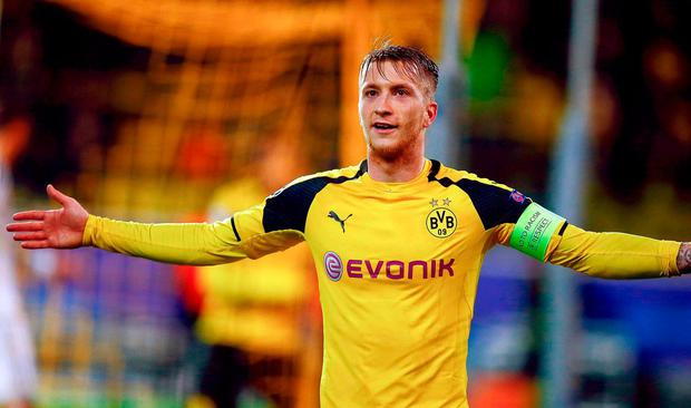 Dortmund's Marco Reus. Photo: Reuters