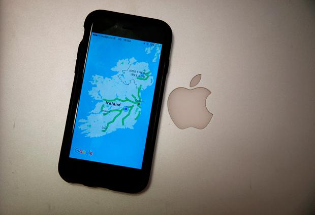 Ireland was complicit in Apple's grotesque tax avoidance, which saw it pay just 0.005pc tax in 2014. Photo credit: Niall Carson/PA Wire