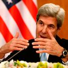 Outgoing US Secretary of State John Kerry. Photo: REUTERS/Faisal Al Nasser