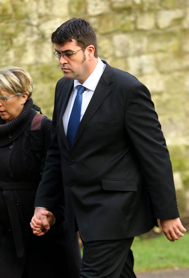 File photo dated 20/01/15 of stunt company director Scott May who will be sentenced today over health and safety breaches following the death of a human cannonball who was killed after being fired into the air at a show. Photo: Gareth Fuller/PA Wire
