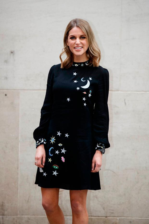 Amy Huberman at the launch of Striking Out at the Irish Film Institute in Temple Bar. Picture: Andres Poveda