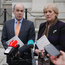 Denis Naughten, Minister for Communications and Heather Humphreys, Minister for Arts. Photo: Adrian Weckler