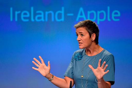 EU Commissioner Margrethe Vestager. Photo: REUTERS/Eric Vidal