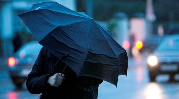 Grab a brolly - heavy rain on the way today as Met Eireann issues wind warning