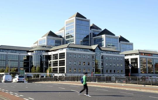 A spokesperson for Ulster Bank said it had begun the process of communicating with customers affected and pointed to Mr Mallon's comments during the committee hearing in which he stated this would take into next year. Photo: Bloomberg