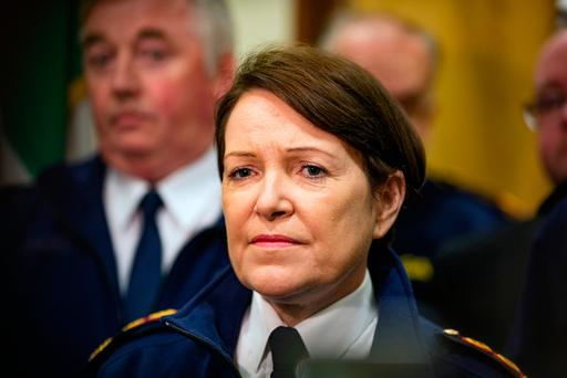 Commissioner O'Sullivan withdrew from the programme abruptly after being informed that RTÉ broadcaster Evelyn O'Rourke intended to ask her about a series of controversies that have engulfed her position and the force throughout 2016. Photo: Arthur Carron
