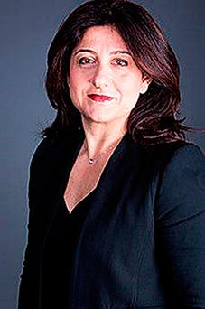 Christine Ourmieres-Widener, who has been named as Flybe's new chief executive after the regional airline's former boss stepped down two months ago. Photo: PA