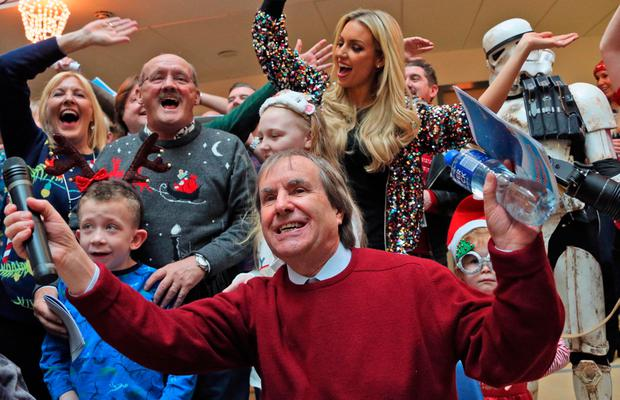 647b43147acd Watch  Brendan O Carroll puts big smiles on little faces at Crumlin ...