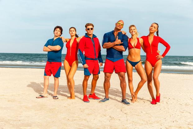 Baywatch - the new stars