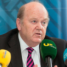 The figures were released by Finance Minister Noonan Photo: Tony Gavin