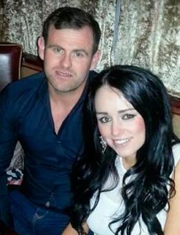 Jonathan McSherry (34) with former partner Jessica Bowes