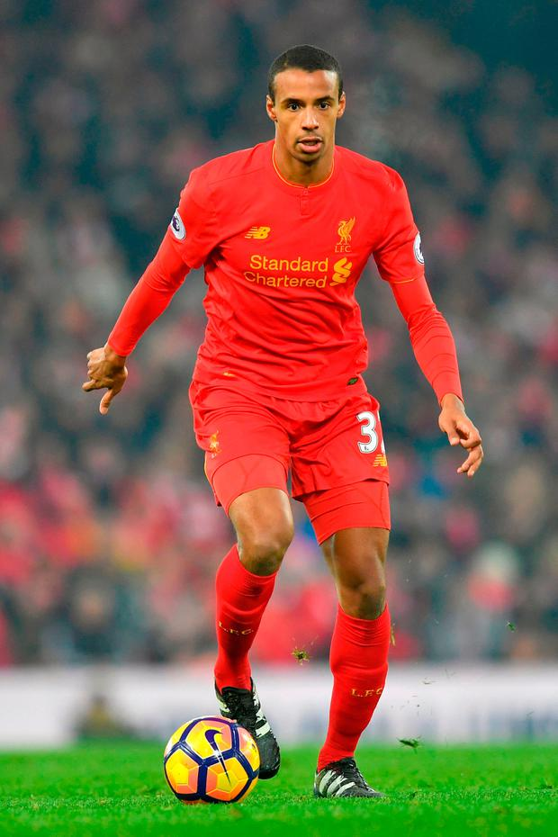 Liverpool's Joel Matip Picture: PA