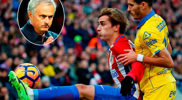 Man United boss Mourinho is chasing Antoine Griezmann
