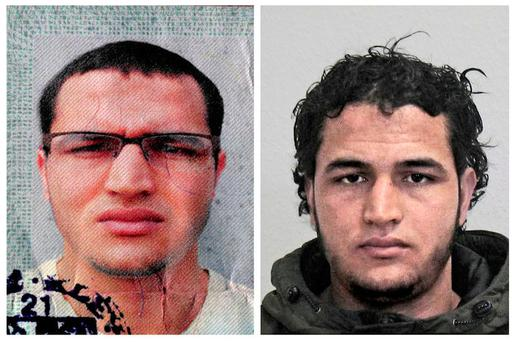Anis Amri. picture: German federal Police