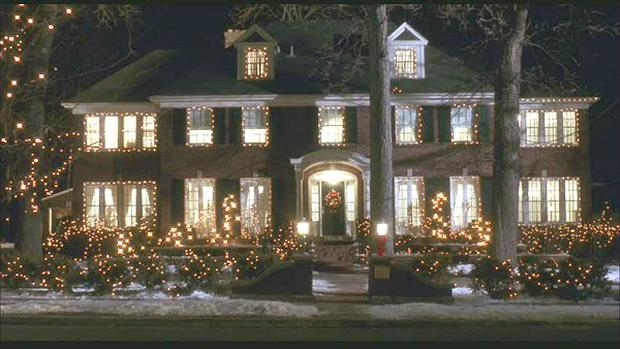 The McCallister's house in Home Alone