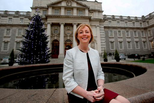 Regina Doherty has backed civil disobedience to stop the North-South Interconnector. Photo: Tom Burke
