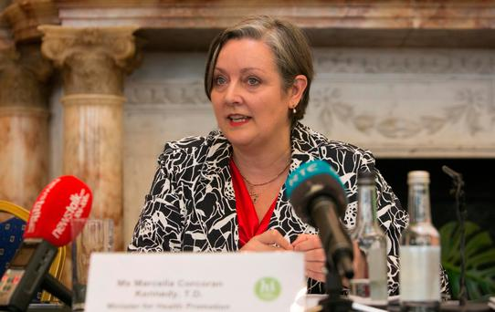 Junior Health Minister Marcella Corcoran Kennedy. Photo: Gareth Chaney Collins