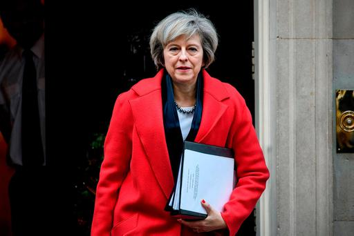 British PM Theresa May. Photo by Carl Court/Getty Images