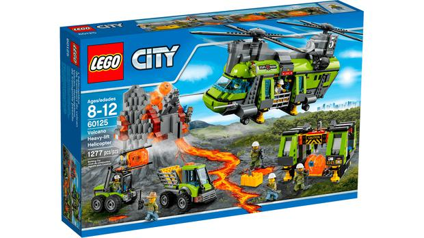 Lego City Volcano Heavy-Lift Helicopter. Picture: Lego.com