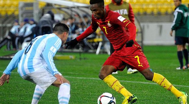 Samuel Tetteh has publicly stated his desire to join United. Getty