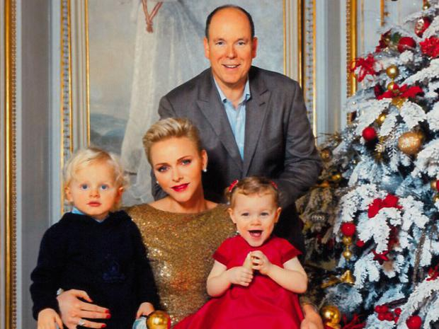 A Princess For Christmas Poster.Princess Charlene And Prince Albert Of Monaco Release