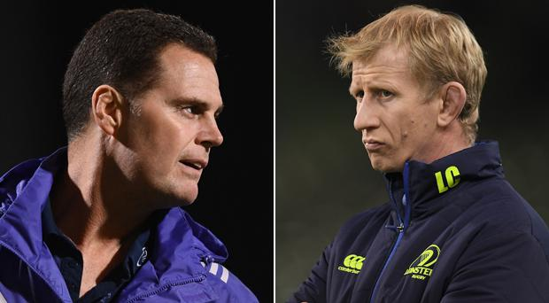 Rassie Erasmus and Leo Cullen appear to be approaching the game very differently