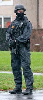 A member of the Garda Armed Support Unit