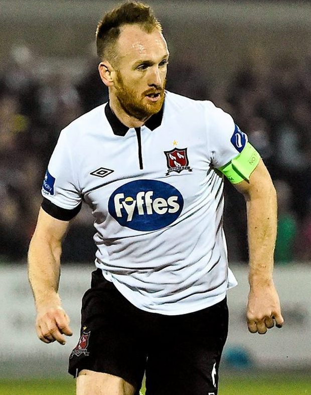 Dundalk capatin Stephen O'Donnell. Photo: Sportsfile