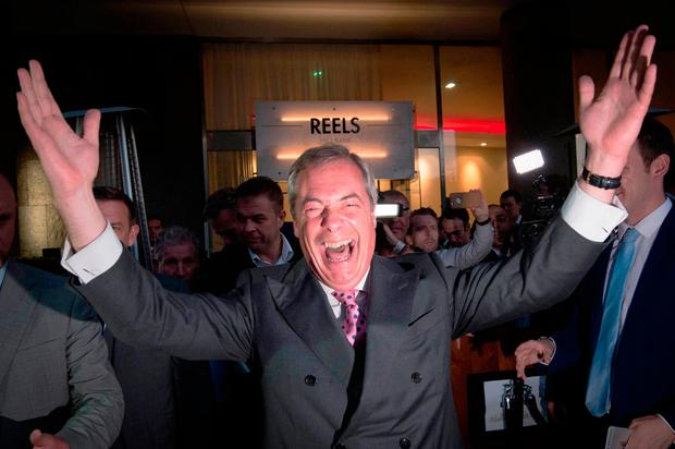 Nigel Farage helped make Brexit a reality - an event that will have a big impact on Ireland