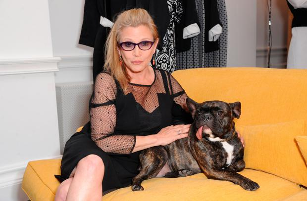 Carrie Fisher attends Marina Rinaldi launch of new atelier on July 3, 2014 in London, England. (Photo by David M. Benett/Getty Images for Marina Rinaldi)