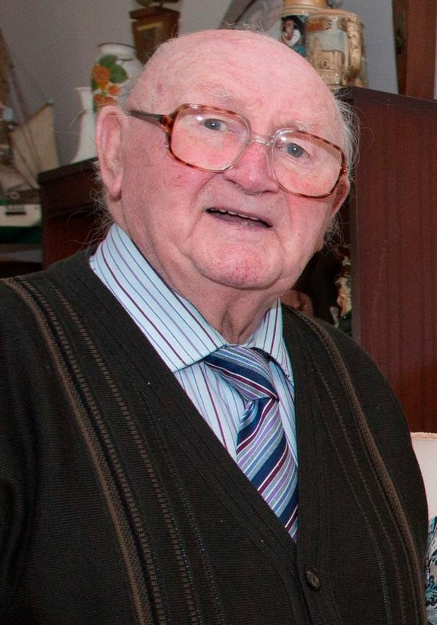 The late TJ Byrne. Photo: Michael O'Rourke