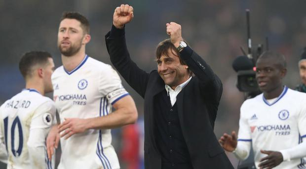 Chelsea have been in irresistible form since September. Getty