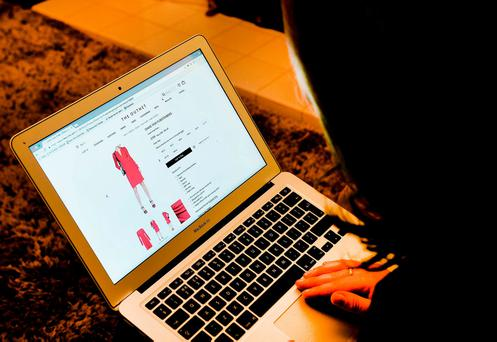 Sales shoppers have splashed out a whopping €4m online on Christmas Day. Photo: John Stillwell/PA Wire