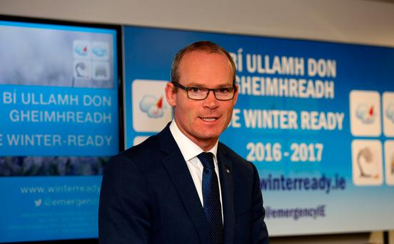 Housing Minister Simon Coveney has a tough brief Picture: Tom Burke