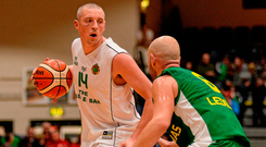 Kerry footballer Kieran Donaghy has given basketball a huge boost in Tralee. Picture credit: Sam Barnes / SPORTSFILE
