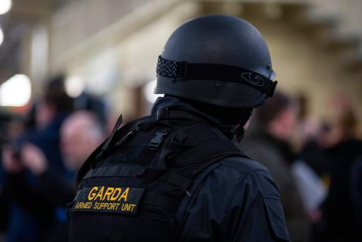 In the first nine months of this year alone almost €200,000 was used to train gardaí to use a firearm, but this figure does not include the new Armed Support Unit (ASU), which began its training in September. Photo: Mark Condren