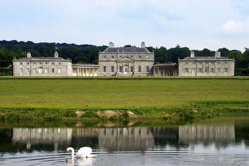 The paintings from the stately house in Co Wicklow, believed to be worth around €7m, were sold in a bid to keep the house from closing.