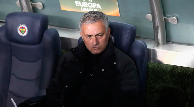 Jose Mourinho was furious after Manchester United's defeat in Turkey last month. Photo: Getty