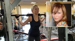 The determination of once wheel-chair bound Lana has impressed fellow gym members