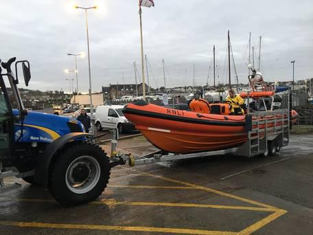 Bangor RNLI's volunteer crew responded within minutes