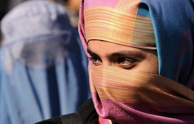 Under Taliban rule, women were publicly flogged, lashed and executed in football stadiums Getty