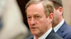 Taoiseach Enda Kenny has raised concerns about the growth in the 'gap' between pensions in the public and private sectors. Photo: AFP/Getty Images