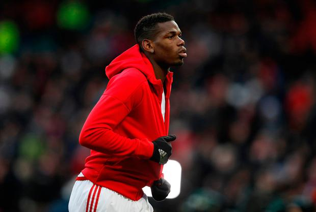 Paul Pogba: improving all the time Picture: Reuters