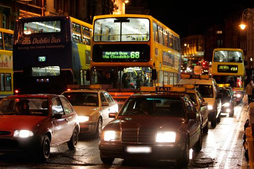 Owen Keegan says new traffic plans will come into force by the end of 2017 Picture: Arthur Carron/Collins