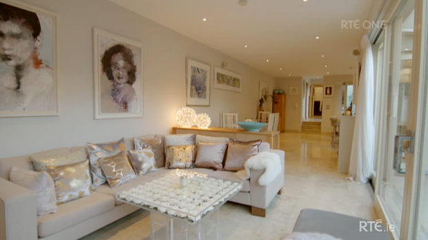 Judges rated Norah's living space which they said was a perfect combination of