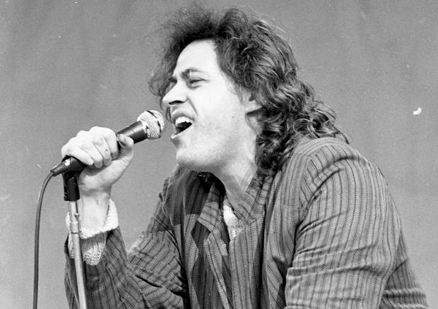 Bob Geldof of The Boomtown Rats. (Part of the Independent Newspapers Ireland/NLI Collection).