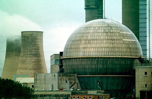 The Sellafield nuclear plant in Cumbria in the UK. Photo: PA