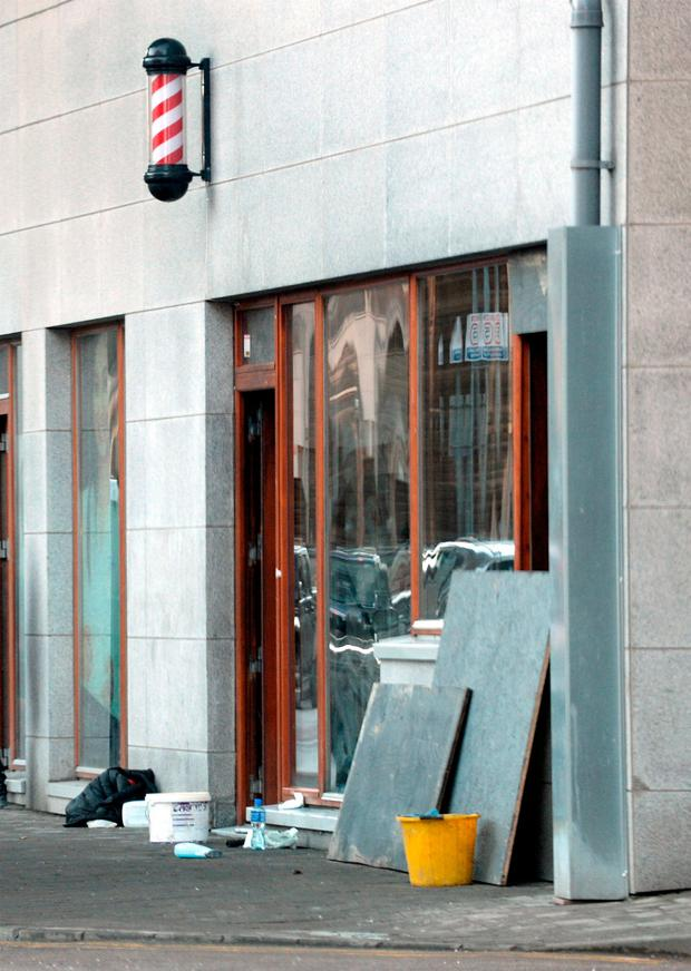 Gardai believe the notorious brothers may have been behind the late-night arson attack on Karlton Barbers