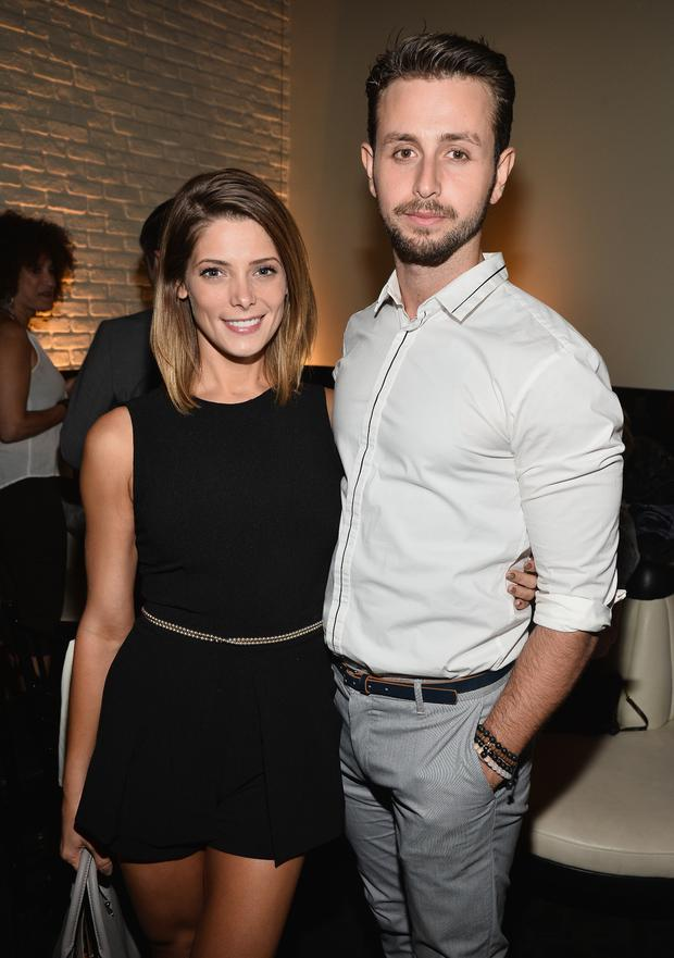 Actress Ashley Greene (L) and Paul Khoury attend the STK Los Angeles 6th Anniversary Party at STK on June 4, 2014 in Los Angeles, California. (Photo by Michael Buckner/Getty Images for STK)